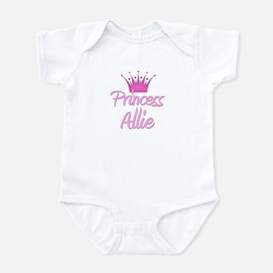 Princess Allie Infant Bodysuit
