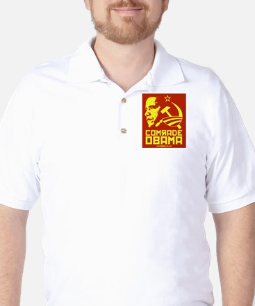 Comrade Obama Golf Shirt