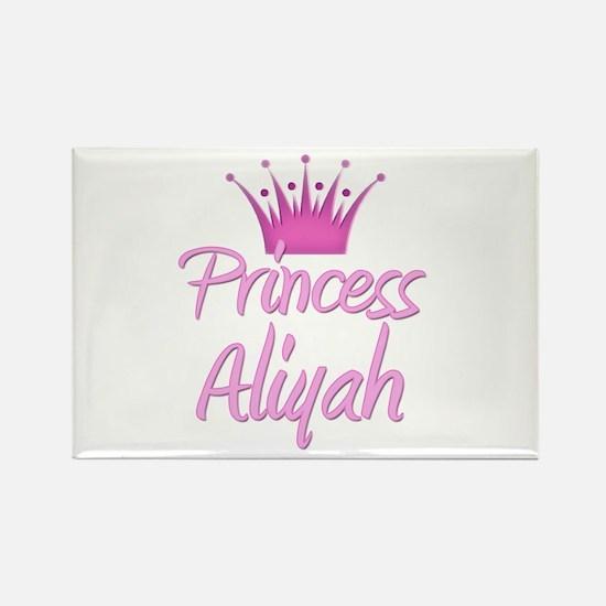 Princess Aliyah Rectangle Magnet