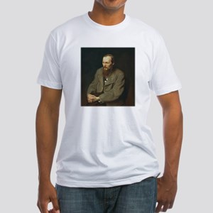 Fyodor Dostoevsky Fitted T-Shirt