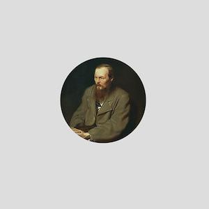 Fyodor Dostoevsky Mini Button