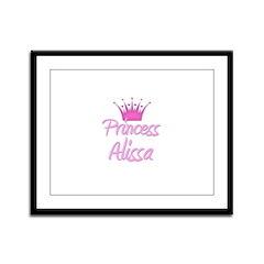 Princess Alissa Framed Panel Print