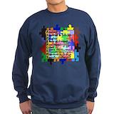 Autistic Sweatshirt (dark)