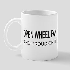Open Wheel Fan Mug