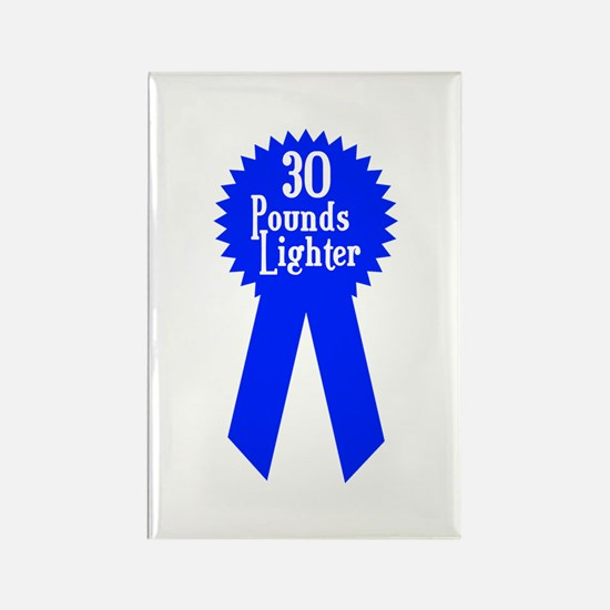 30 Pounds Award Rectangle Magnet