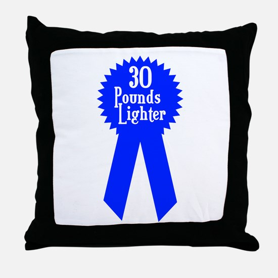 30 Pounds Award Throw Pillow