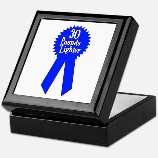 30 Pounds Award Keepsake Box