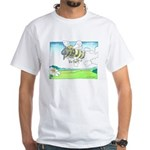 Steam Bee White T-Shirt