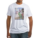 Kay Nielsen Princess Fitted T-Shirt
