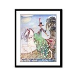 Kay Nielsen Princess Framed Panel Print