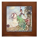 Kay Nielsen Princess Framed Tile