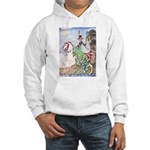 Kay Nielsen Princess Hooded Sweatshirt