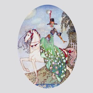 Kay Nielsen Princess Oval Ornament