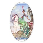 Kay Nielsen Princess Oval Sticker (50 pk)