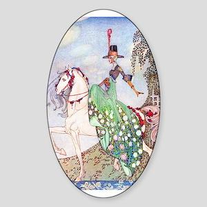 Kay Nielsen Princess Oval Sticker