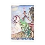 Kay Nielsen Princess Rectangle Sticker 10 pk)
