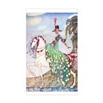 Kay Nielsen Princess Rectangle Sticker