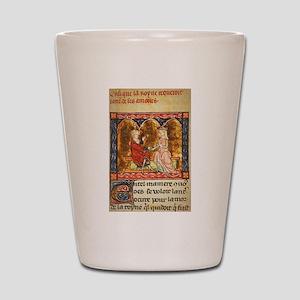 Arthur Legend 2 Lancelot and Guenevere Shot Glass