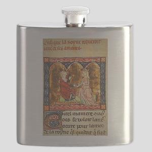 Arthur Legend 2 Lancelot and Guenevere Flask