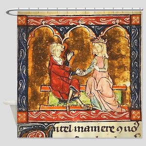 Arthur Legend 2 Lancelot and Guenev Shower Curtain