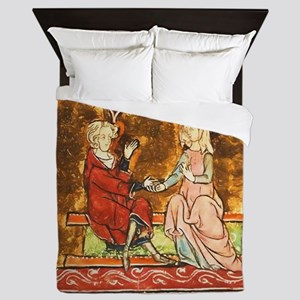 Arthur Legend 2 Lancelot and Guenevere Queen Duvet