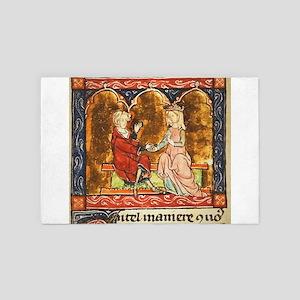 Arthur Legend 2 Lancelot and Guenevere 4' x 6' Rug