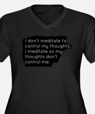 Meditation Plus Size T-Shirt