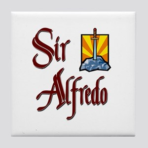 Sir Alfredo Tile Coaster