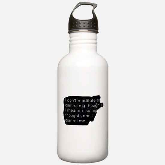 Meditation Water Bottle