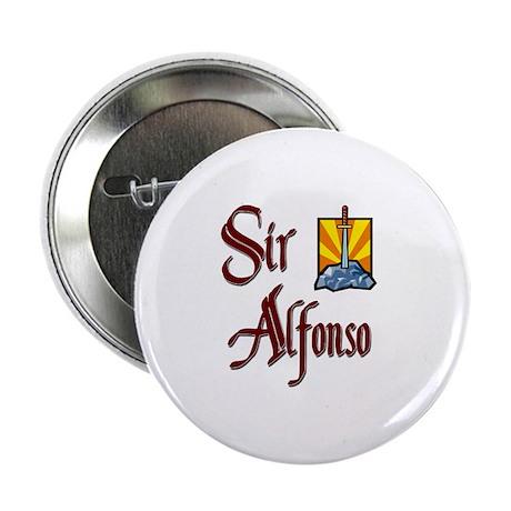 "Sir Alfonso 2.25"" Button"