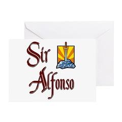 Sir Alfonso Greeting Card