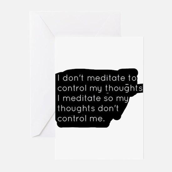 Meditation Greeting Cards
