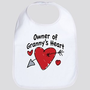 OWNER OF GRANNY'S HEART Bib