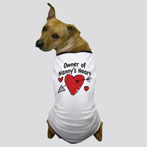 OWNER OF NANNY'S HEART Dog T-Shirt