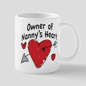OWNER OF NANNY'S HEART Mug