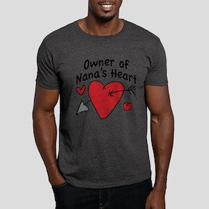 OWNER OF NANA'S HEART Dark T-Shirt
