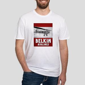 VINTAGE BELKIN Fitted T-Shirt