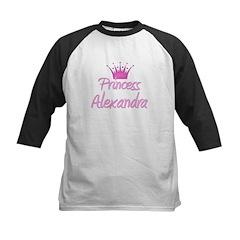 Princess Alexandra Kids Baseball Jersey