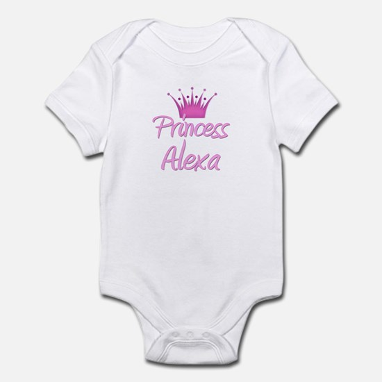 Princess Alexa Infant Bodysuit