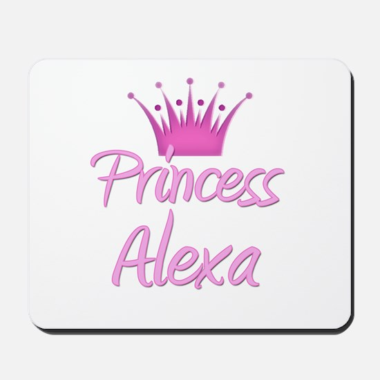 Princess Alexa Mousepad