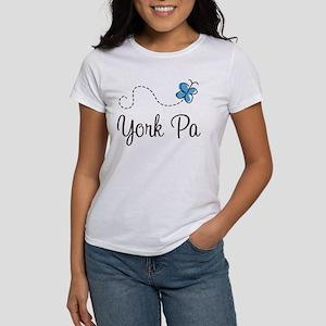 Pretty York Pennsylvania Women's T-Shirt