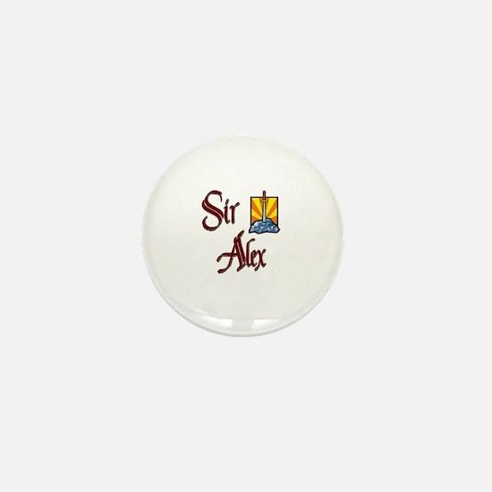 Sir Alex Mini Button