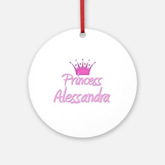 Princess Alessandra Ornament (Round)