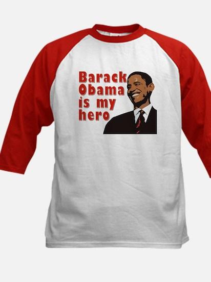 Barack Obama is my Hero Kids Baseball Jersey