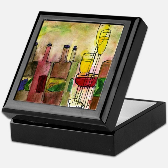 Tuscany Wine Keepsake Box