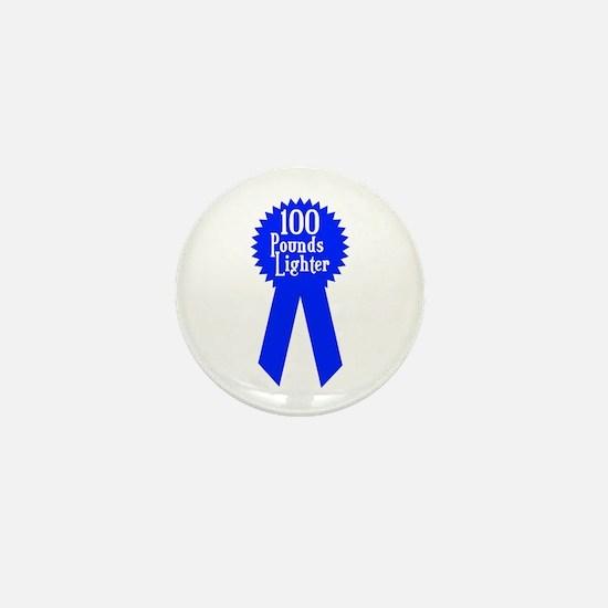 100 Pounds Award Mini Button