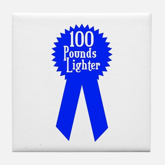 100 Pounds Award Tile Coaster