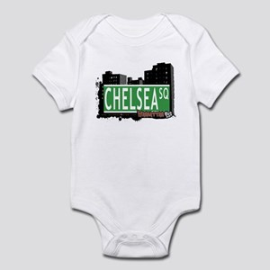 CHELSEA SQUARE, MANHATTAN, NYC Infant Bodysuit