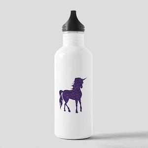 Purple Unicorn Stainless Water Bottle 1.0L