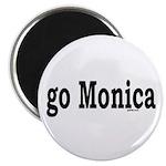go Monica Magnet